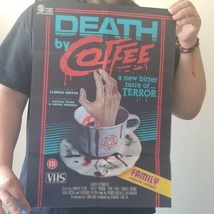 Death By Coffee Poster